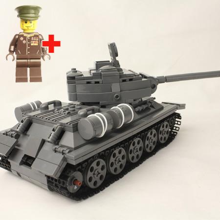 как сделать из лего танк т 34 85 инструкция видео