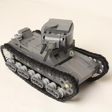 Танк Т-26 LEGO - Tanks lego