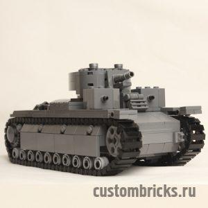 lego tank t 28